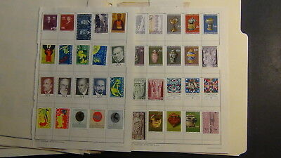 Liecthenstein stamp collection on Scott Int'l pages to '69 and glassines,book