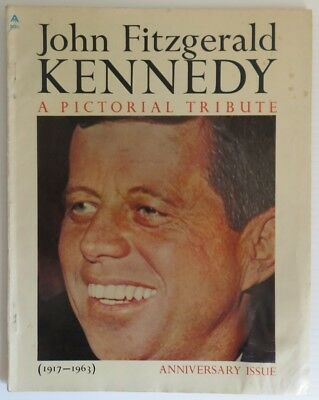 1964 John F. Kennedy Pictorial Tribute Magazine                (Inv14851)