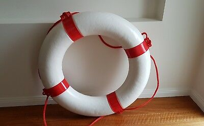 Life Bouy Ring 650mm (Red/White)
