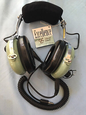 Brand New David Clark H10-60H Headset For Helicopter - Cord Made In Usa