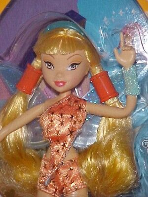 2005 WINX CLUB STELLA NRFB in RARE ORANGE OUTFIT