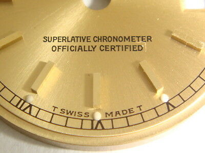 Rolex Lady Datejust Oyster Perpetual Dial Blatt Stahlgold / Gold 69173 69178