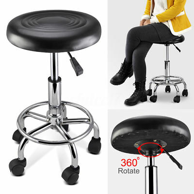 Swivel Stool Chair Salon Barber Massage Hairdressing Tattoo Spa Adjustable 360°