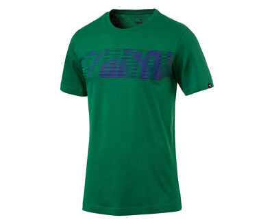 Puma Men's Speed Logo Tee - Verdant Green