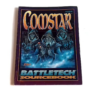 Vintage Roleplaying Comstar Battletech Source book 1992 - FASA Corporation