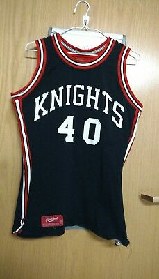 vintage,game worn KNIGHTS basketball jersey circa early1970s.