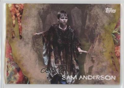 2016 Topps The Walking Dead Survival Box Infected #28 Sam Anderson /99 Card 5i7