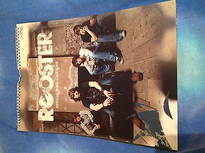 Rooster - Official Calendar 2006 - Pop Rock McFly Band