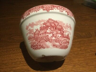 Rare Alfred Meakin  English Village 'Xmas' Pudding Basin 1.75 Pint