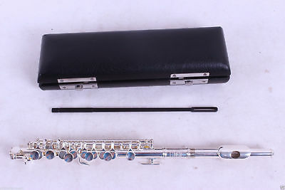 new Excellent piccolo c key nickel plated nice sound and technique #P02