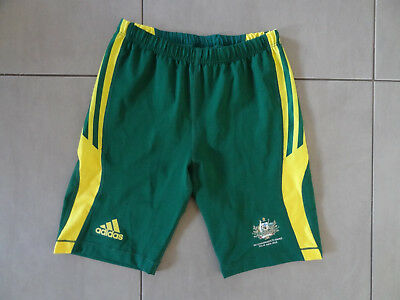 Mens Adidas Australia Commonwealth Games Shorts - Size 42/44, Excellent Cond.
