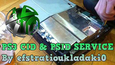 Ps3 Private Console Id 100% Unban Cid + Psid - Instant Delivery