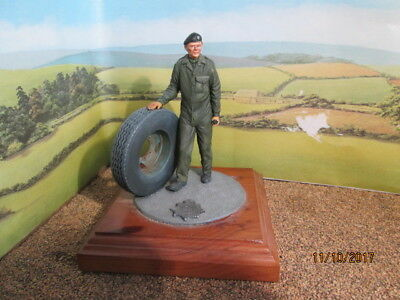 UNBRANDED HEAVY PAINTED LEAD ROYAL CORPS OF TRANSPORT L/Cpl ON WOOD BASE