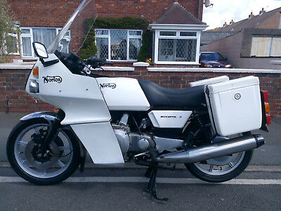 1986 Norton Interpol 2 Rotary Engine. Running Project. Good Investment.