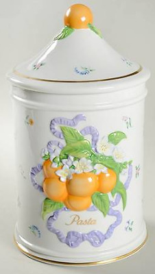 Peaches - Pasta Canister in Le Cordon Bleu by Franklin Mint