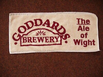 Goddards Brewery The Ale Of Wight Bar Towel Isle Of Wight