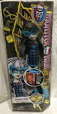 Monster High Geek Shreik Frankie Stein