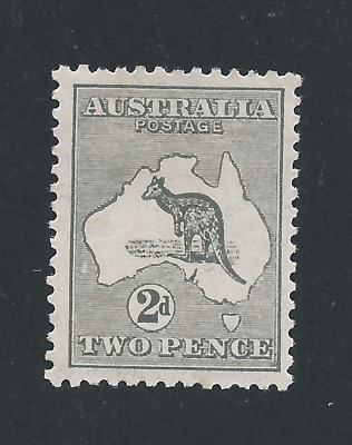 AUSTRALIA 1915-27 2d GREY MM SG 35 CAT £50