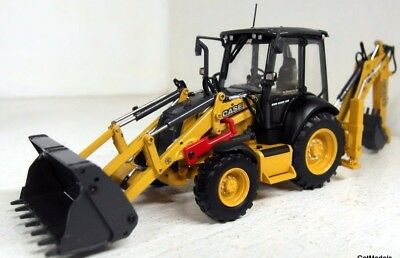 UH 1/50 Scale 8079 Case 580 ST Excavator Diecast model Construction Tractor