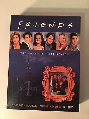 Friends Complete First Season 4 Disc DVD Set