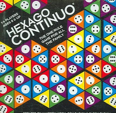 Hexago Continuo The One-Rule Game for All the Family 9781572815261 (Game, 2008)