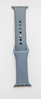 Apple Watch 38mm Midnight Blue Gold Pin Sport Band - S/M - Genuine Apple Product