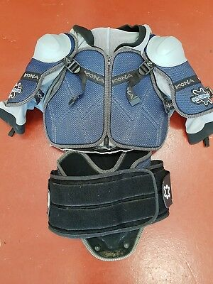 KONA upper body armour brace with spine support
