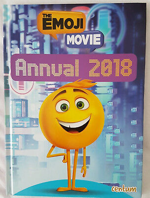 New Out The Emoji Movie 2018 Annual Book  By Centum Brand New