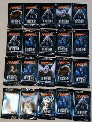 Magic: The Gathering MtG -20ST. Innistrad Booster englisch a. 15-Card