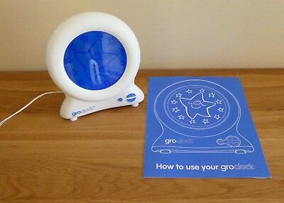 Gro Clock Sleep Trainer.  With instructions.