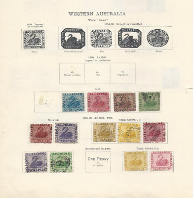 Western Australia Collection (50+ Stamps)