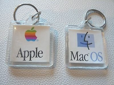 Vintage Apple MAC OS Collectible KeyChain. Great Gift!!!