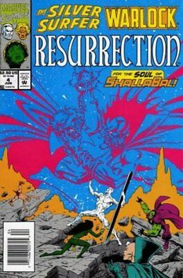 Silver Surfer/Warlock: Resurrection (1993 Ltd) #   4 Near Mint (NM) MODN AGE