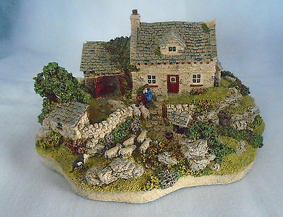 Danbury Mint Shepherds Cottage by Jane Hart Country Village Collection Free P&P