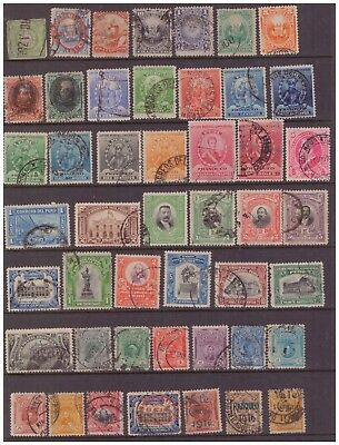 Peru 1868 - 1916 used stamps selection