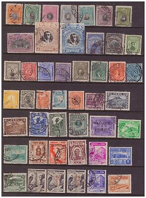 Peru 1918 - 1951 used stamps selection