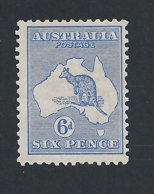 AUSTRALIA 1915 6d ULTRAMARINE MM SG 26 CAT £200
