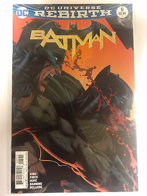 DC Universe Rebirth #5 - Batman Comic