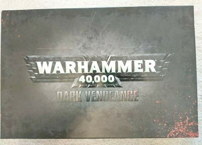 DARK VENGEANCE WARHAMMER40k LIMITED EDITION RETIRED SET/BRAND NEW/GAMES WORKSHOP