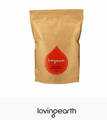 2 x 1kg LOVING EARTH Raw Organic Mesquite Powder 2kg