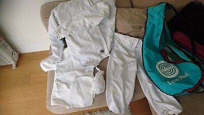 Leon Paul Fencing Jacket , Breeches, Plastron and bag - Very Tall Fit