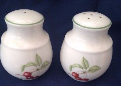 M&S Ashberry Collection Salt & Pepper Cruet Set, Excellent, Rarely Used