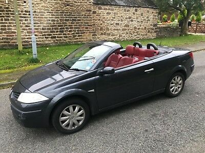 06 06 Renault Megane  Convertible Automatic 1.6 Dynamique Sold With No Reserve!