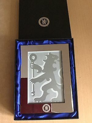 "Chelsea Football Club Photo Frame 6"" X 4"" Boxed Great Present"