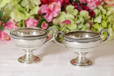 Sterling Silver Cream and Sugar, Fisher Silversmiths
