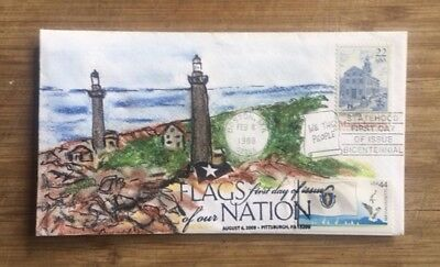 MA. Statehood #2341 + MA Flags of our Nation #4297, new Hayden cachet, 2 cancels