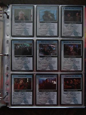 Babylon 5 Ccg - Premier And Shadows - Complete Sets - 649 Cards + Sell Sheets