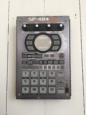 Roland Sp404Sx with case and 8gb SD