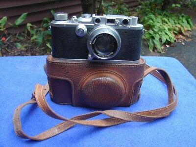 Vintage 111A IIIA 1936 LEICA Camera with Lens and Case