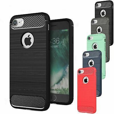 Apple iPhone 5 5s SE Carbon Outdoor Case Panzer Hülle Cover Hybrid Handyhülle